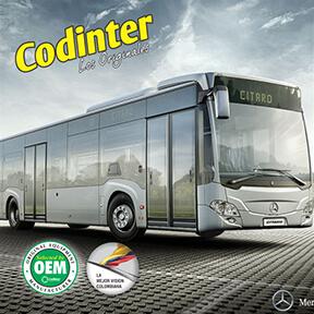 Catálogo de Plumillas para Buses